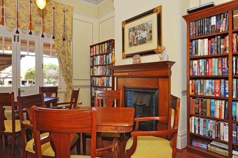 Library Area for Community - Bicton Retirement Villages