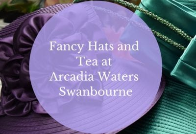 Hats Tea Party at Swanbourne