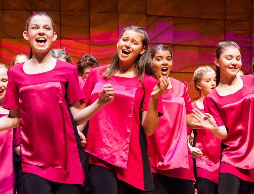 The Australian Girls Choir at Arcadia Waters Swanbourne
