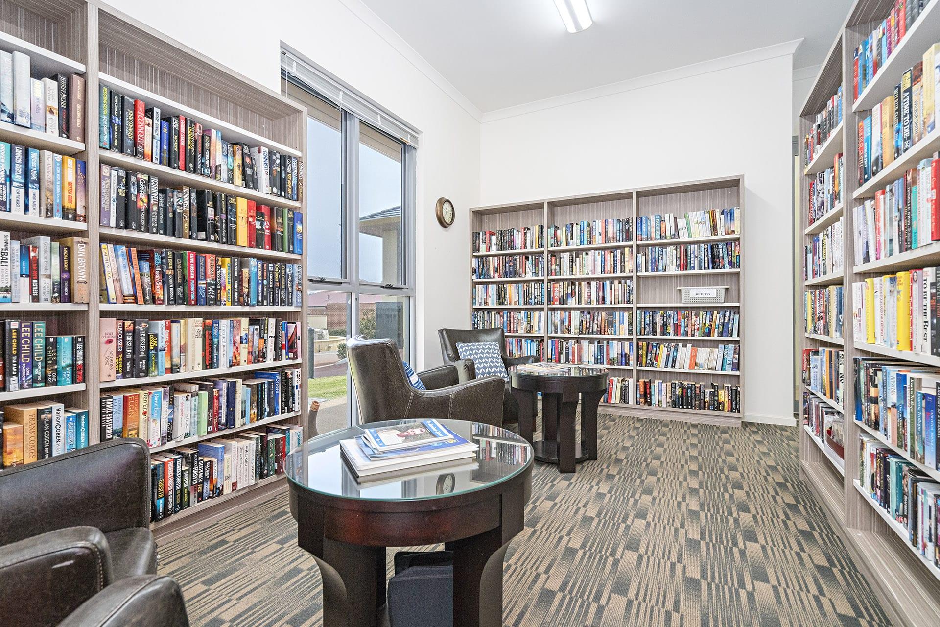 Arcadia Geraldton library