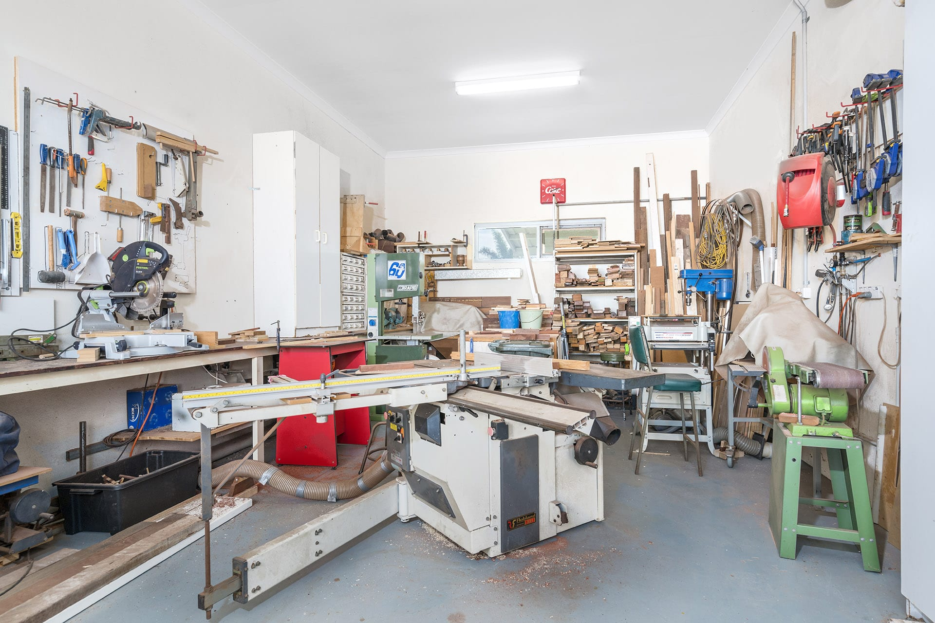 Arcadia Geraldton workshop