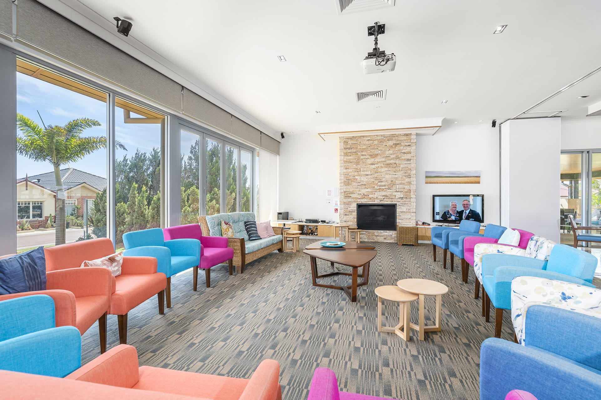 Geraldton clubhouse lounge