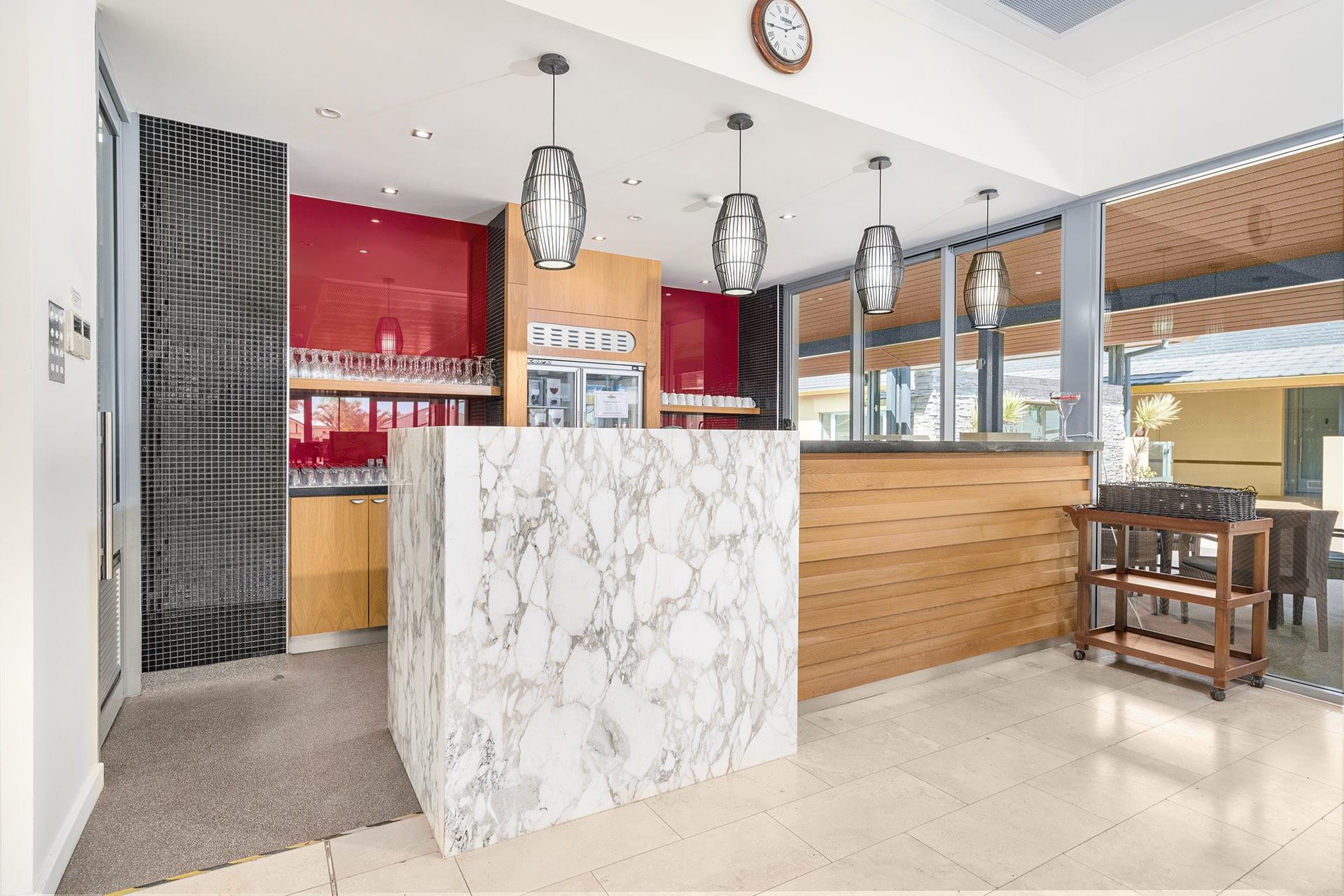 Arcadia Geraldton cloubhouse bar